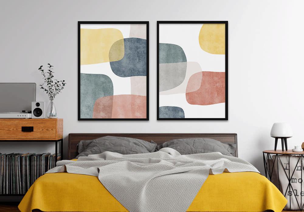 roupa de cama amarelo