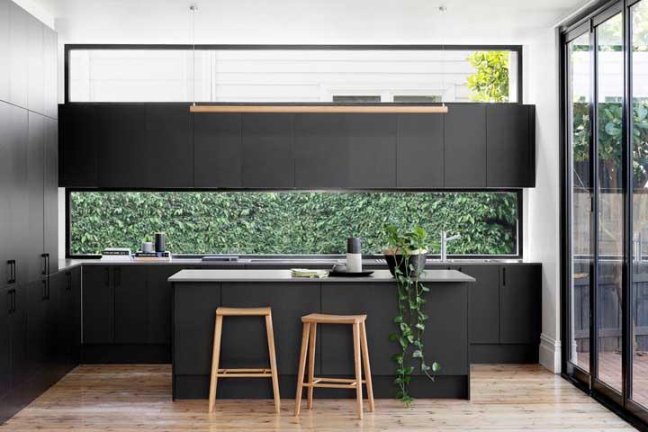 cozinha decorada moderna