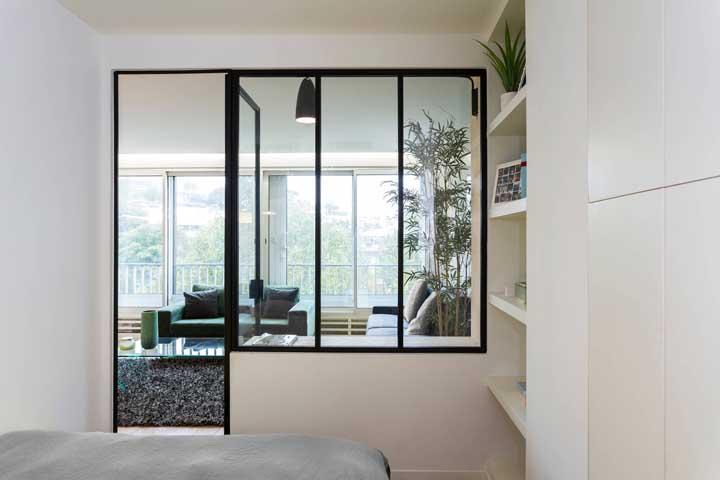 janelas internas para esquadrias