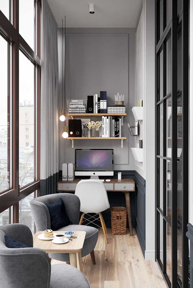 pequeno home office