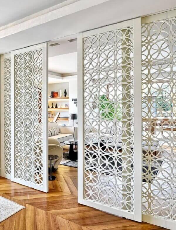 porta decorativa funcional