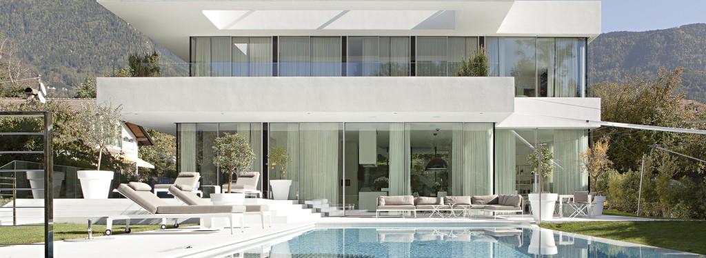 casa com fachada moderna