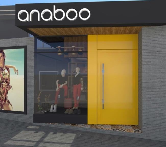 portas esmaltadas para loja