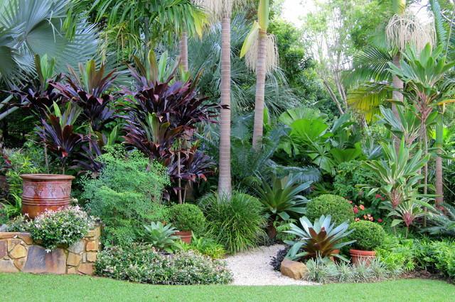 jardim tropical em residencia