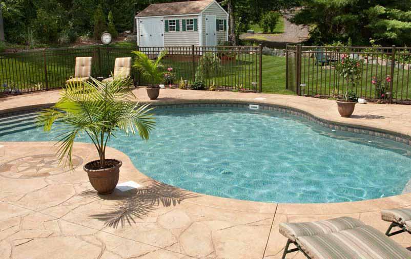 piscina com piso