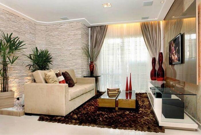 sala com decoraçaão