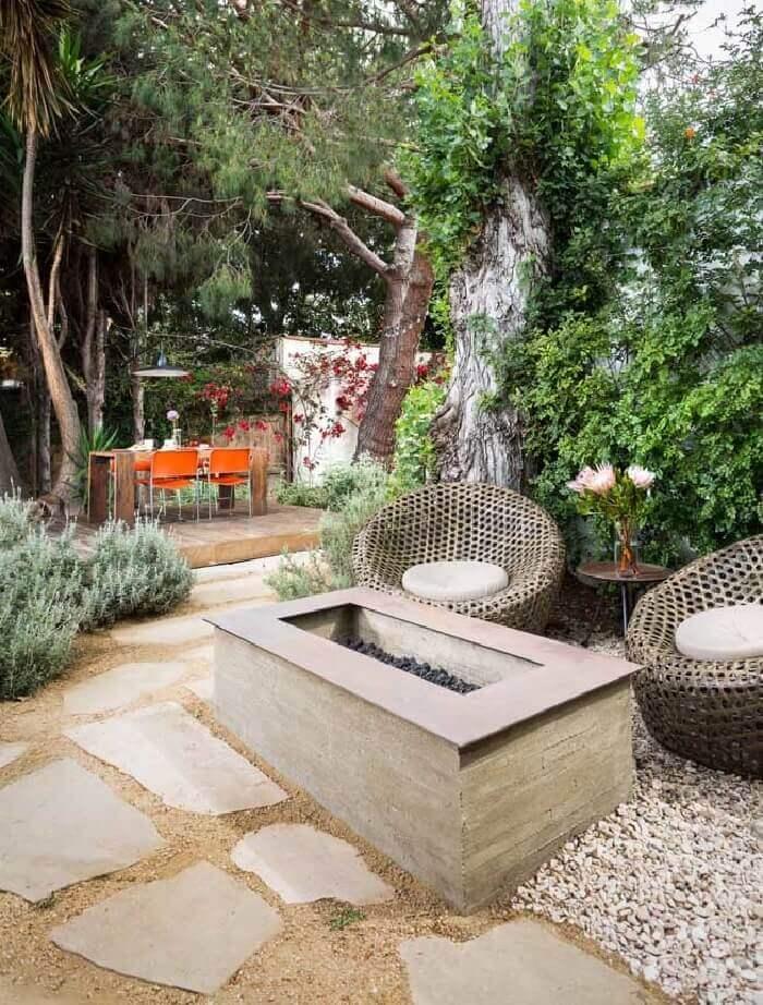 pedra para decoração de jardim