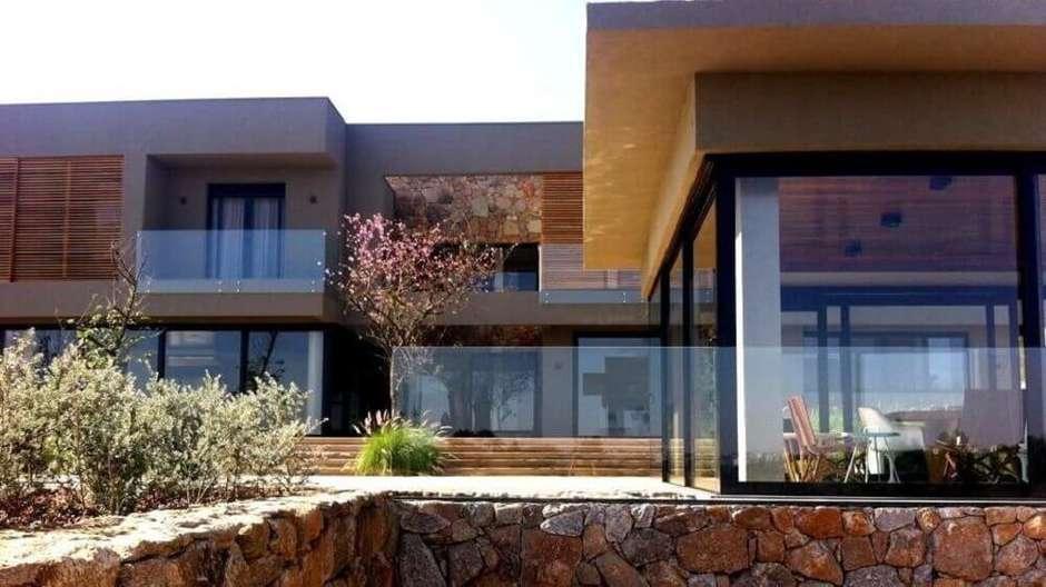 casa moderna rústica