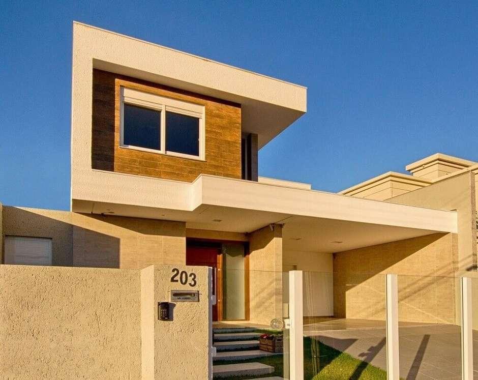 fachada com modernidade