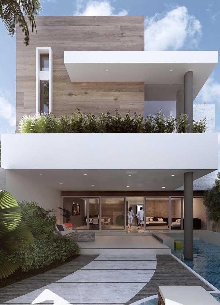 fachada traseira residencial