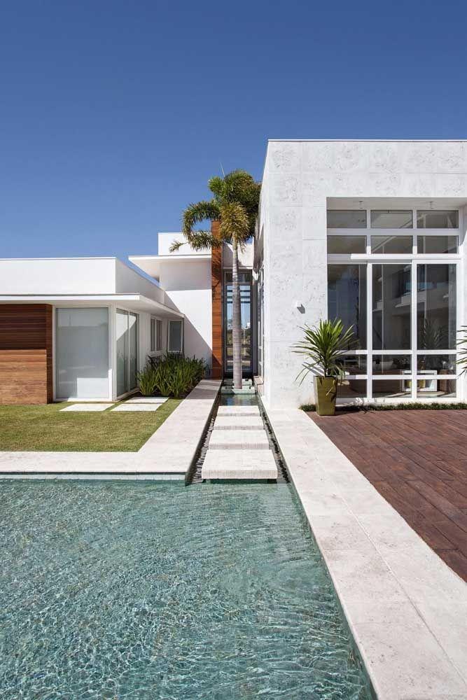 casa moderna decorada