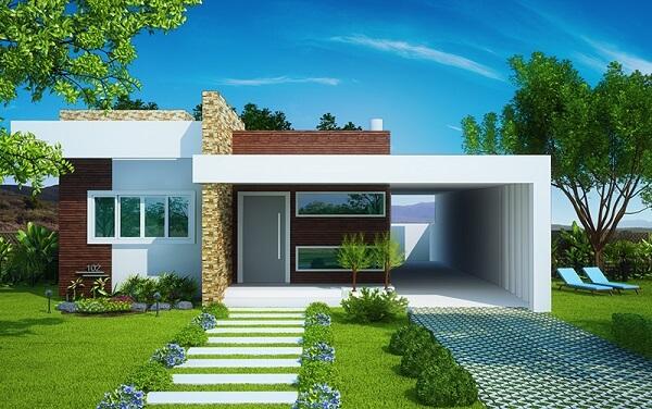 casa simples moderna
