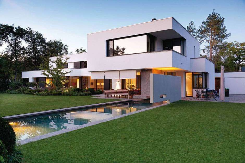 casa moderna grande
