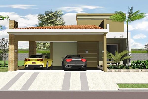 garagem para automóveis