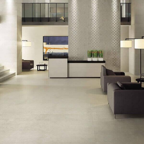 piso acetinado no piso