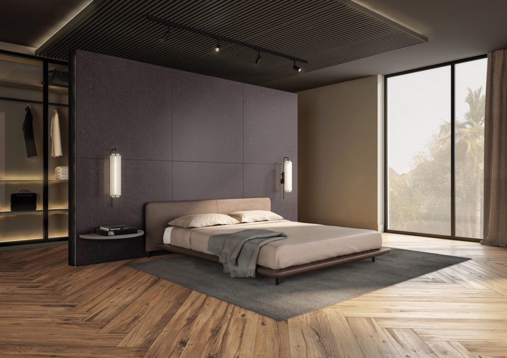 piso de madeira acetinado