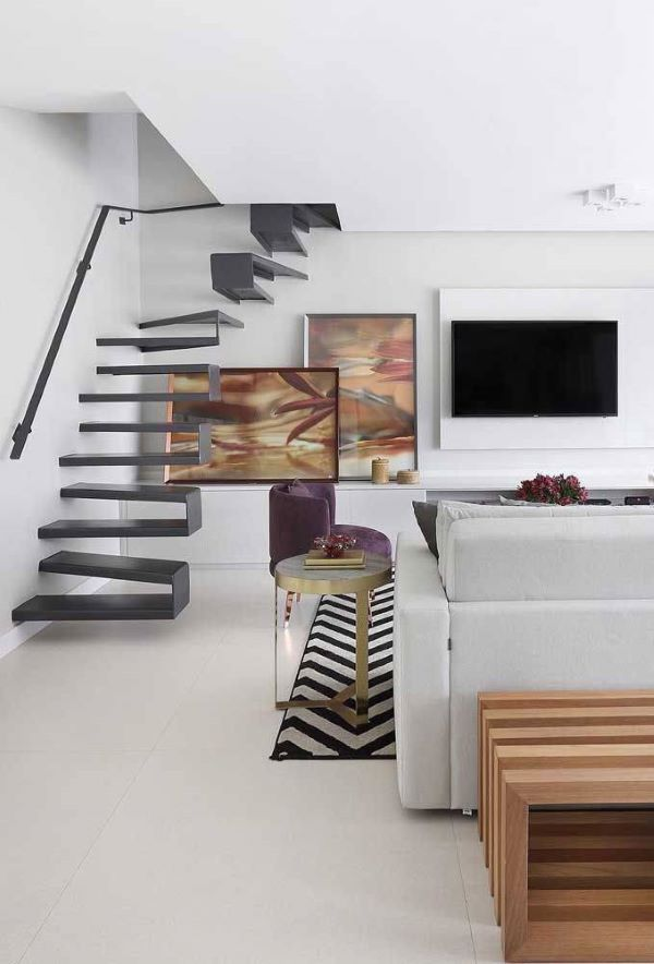 piso branco acetinado