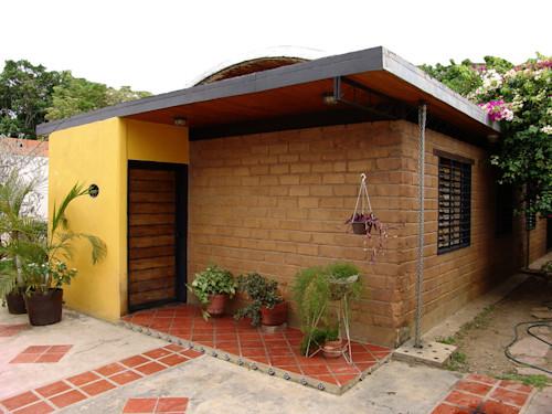 casa de tijolo