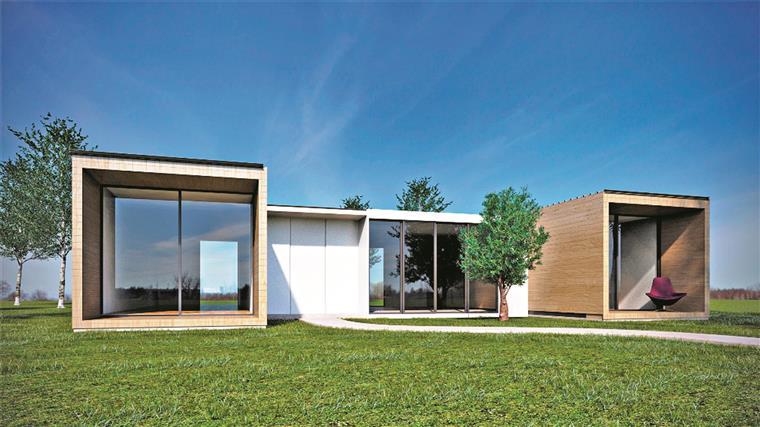 Casas baratas com vidro