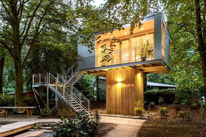Casas baratas moderna
