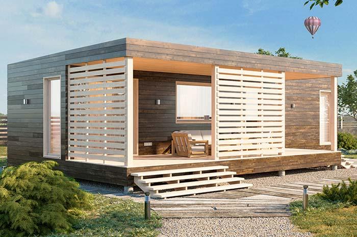 casa pequenas de madeira
