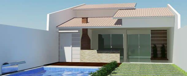 Casas baratas simples