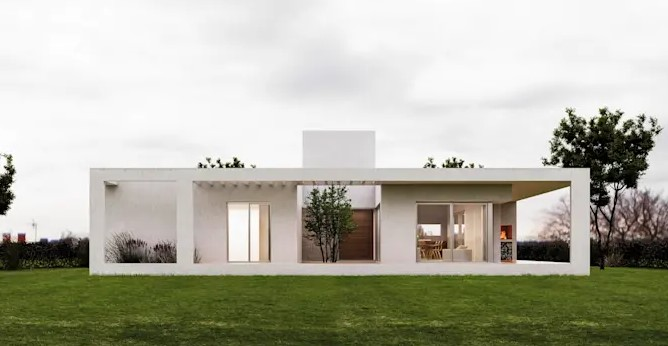 Casas baratas de concreto