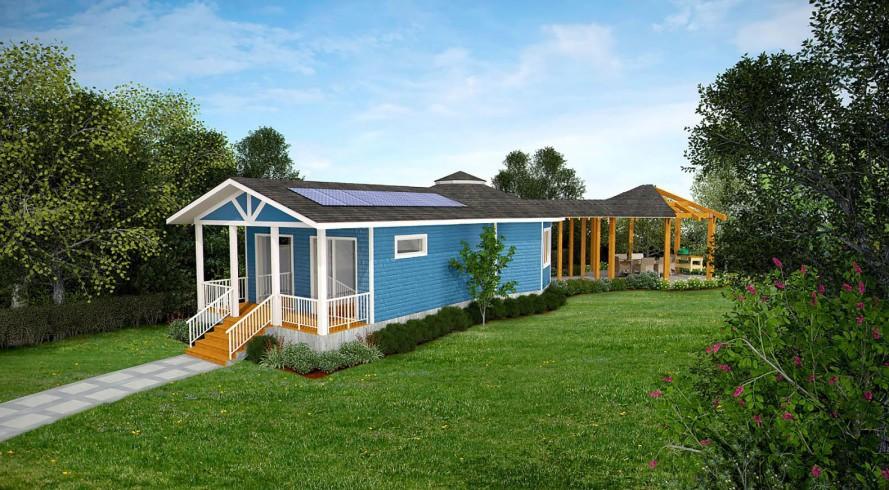 Casas baratas  de madeira