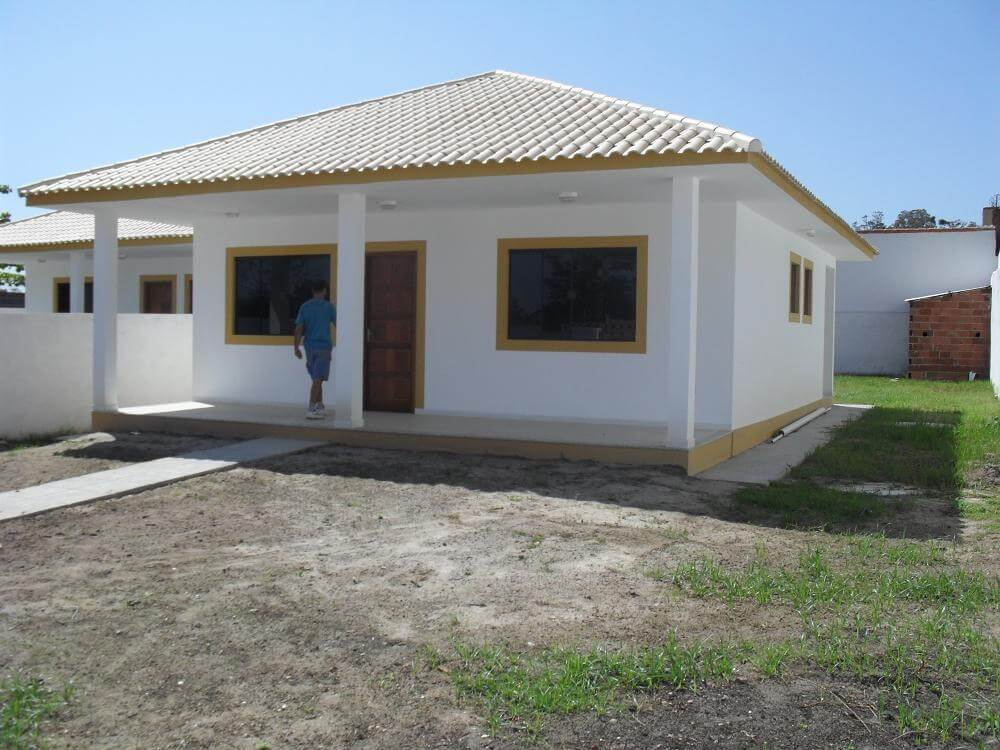 casa simples pronta