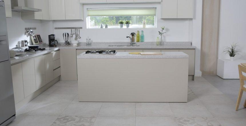 Modelos de piso para a cozinha