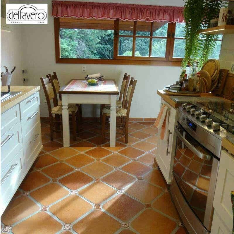 pisos antigos para cozinha
