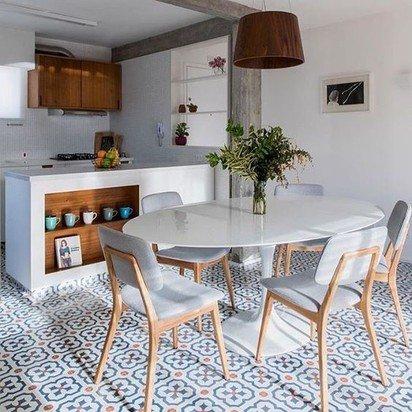 cozinha pequena delicada