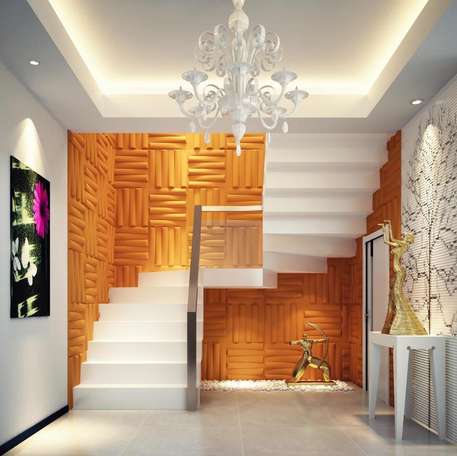 escada com decoração