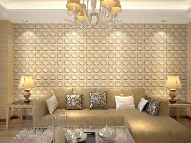 sala neutra decorada
