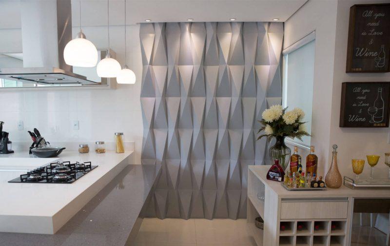 cozinha com decoração