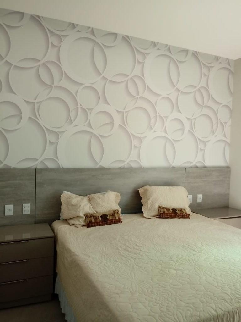 quarto com decoração
