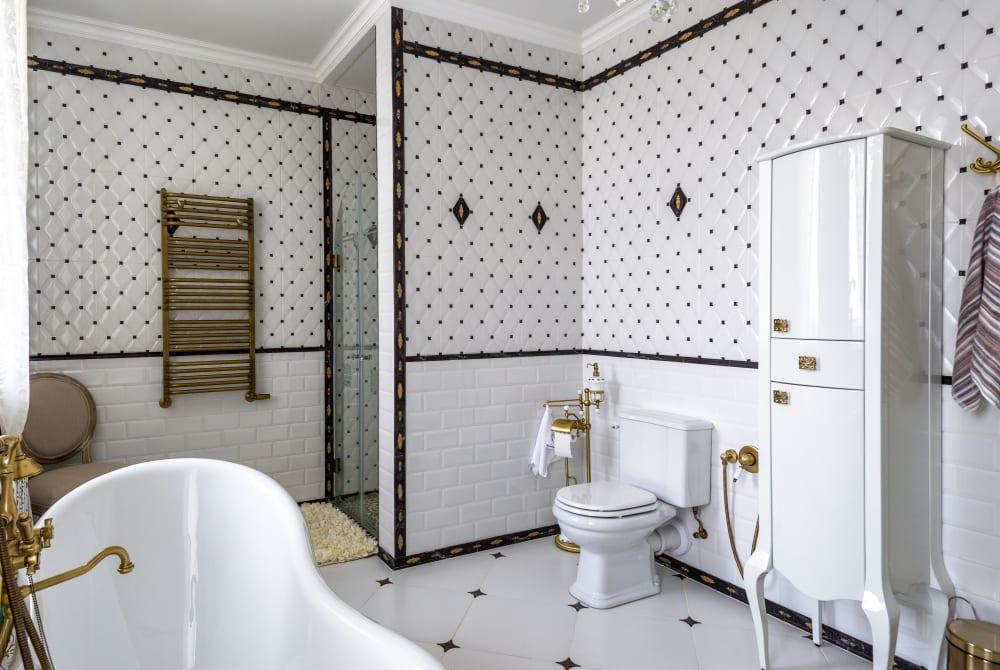 banheiro clássico decorado