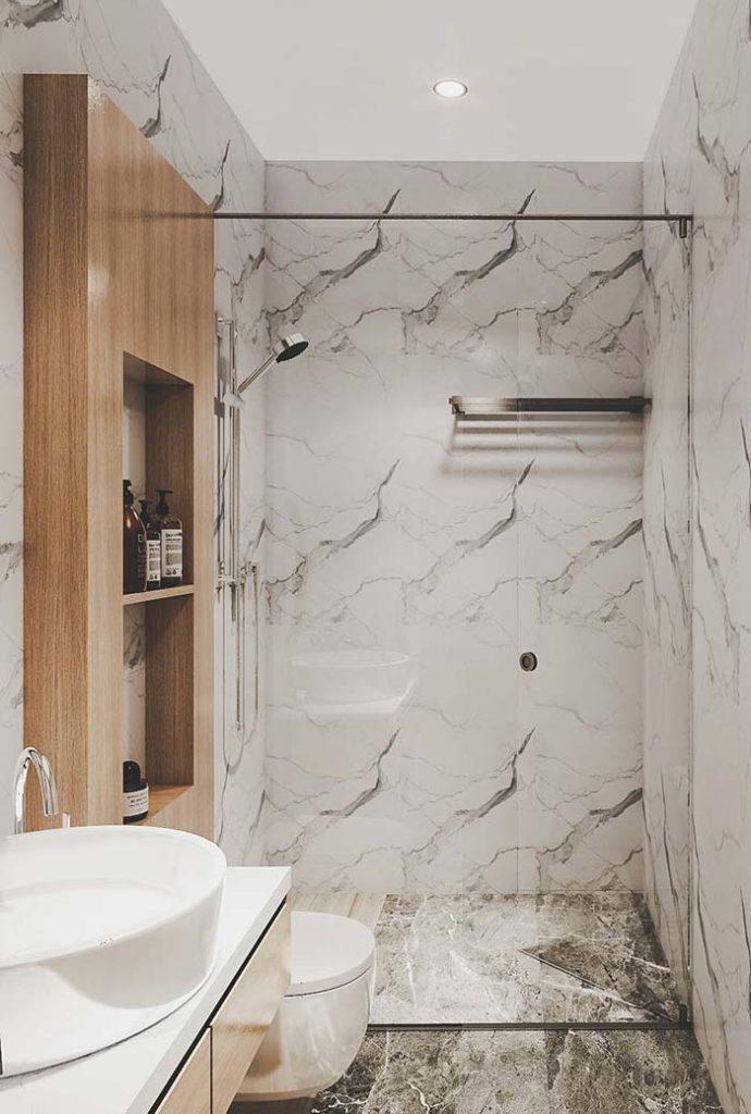 banheiro marmorizado