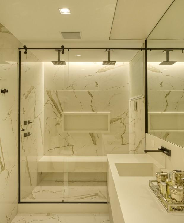 piso de marmore