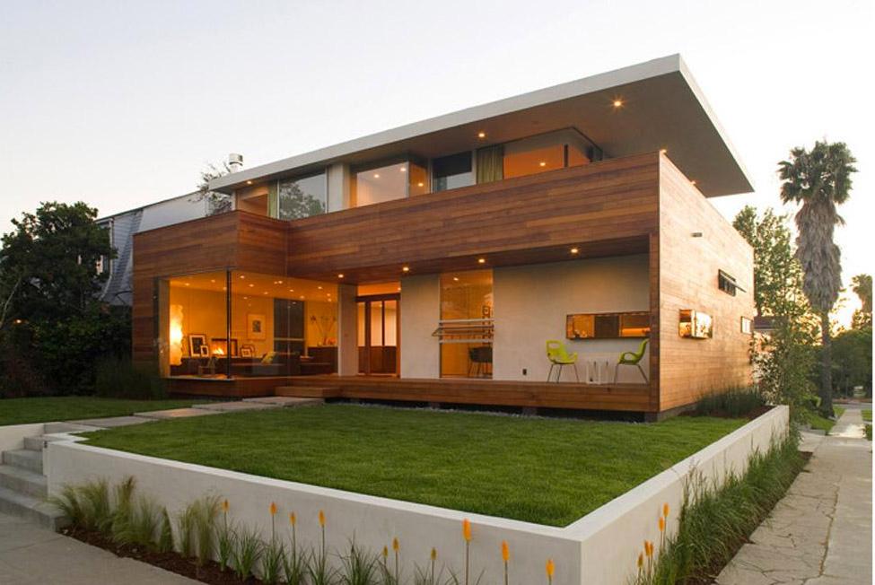 madeira e alvenaria