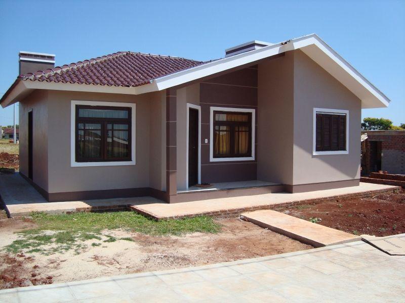 casa simples em construção