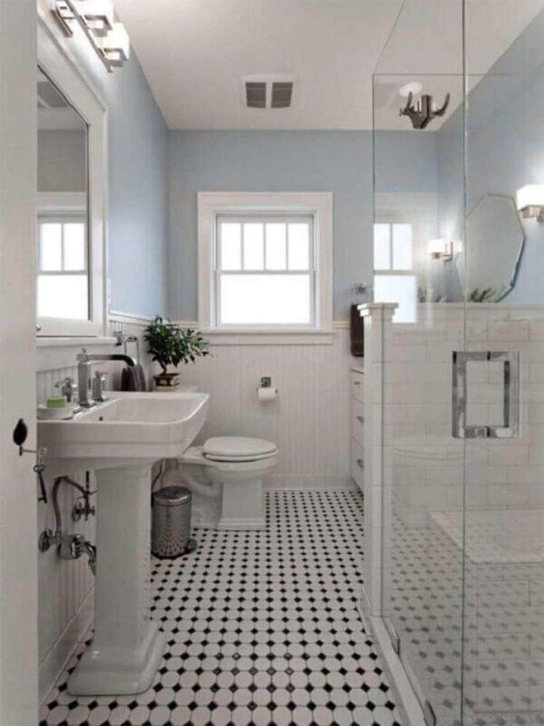 banheiro antigo reformado