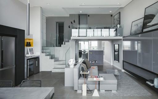 apartamento decorado com modernidade