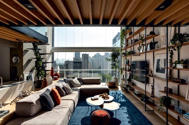 apartamento pé direito duplo