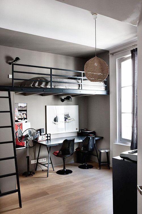 modelo de quarto moderno