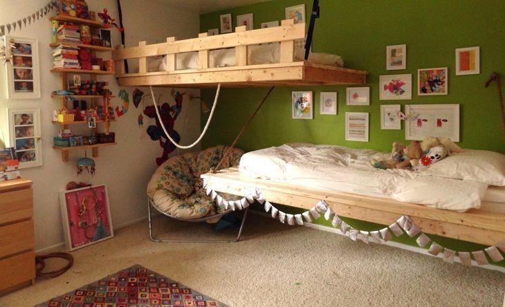 Modelos de camas suspensas