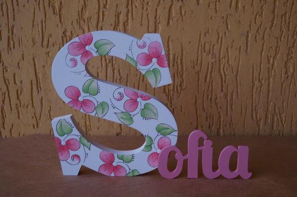 nomes com letras ecorativas
