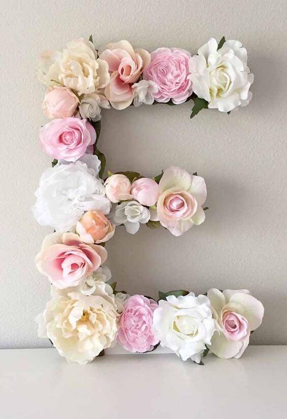 flores na letra