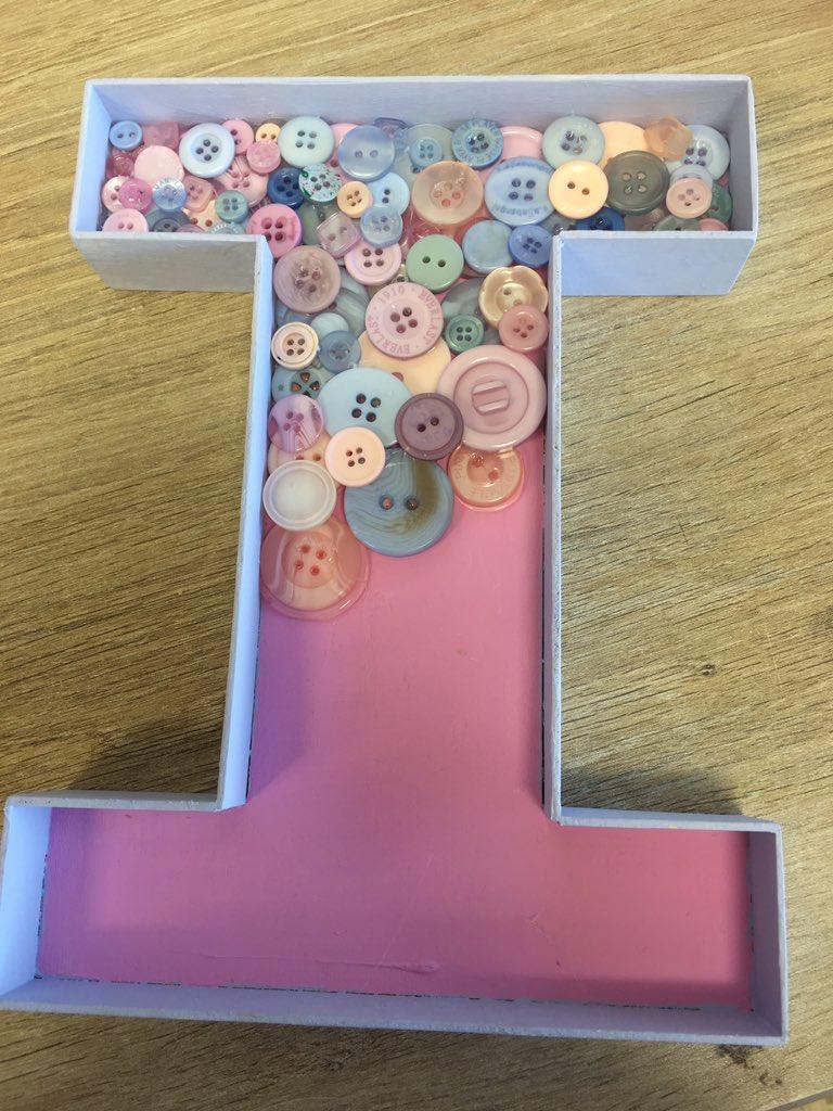 botão para decorar