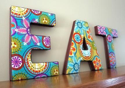molde de letras